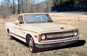 1970 chevy c10 custom grill