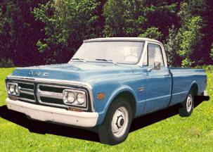GMC TRUCK OR BLAZER 4 HOOD SIDE BUMPERS 1967 1968 1969 1970 1971 1972 CHEVROLET