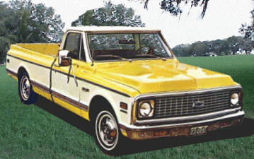 1967-1972 Chevrolet Pickup Model Differences